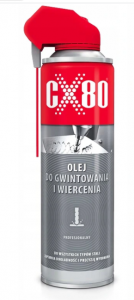 CX80 - OLEJ DO GWINTOWANIA I WIERCENIA DUO SPRAY 500ml